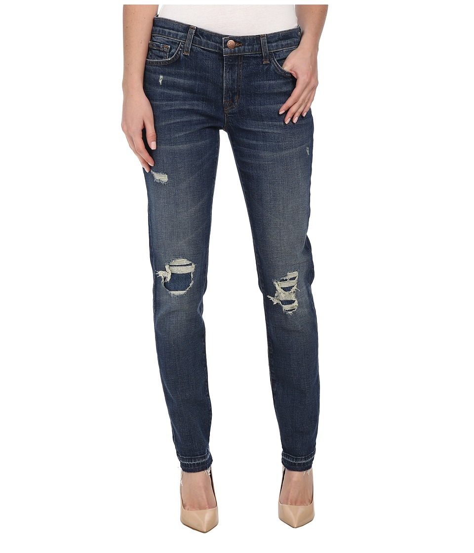 J Brand - Ellis Destructed Straight Leg in Villain (Villain) Women