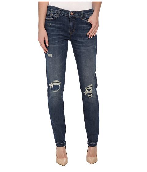 J Brand - Ellis Destructed Straight Leg in Villain (Villain) Women's Jeans