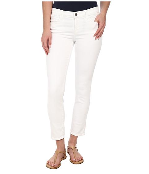 J Brand - Mid Rise Crop in Blanc (Blanc) Women