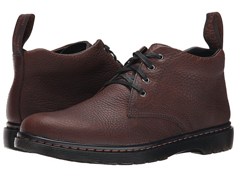 Dr. Martens - Barnie Chukka Boot (Dark Brown Grizzly) Men