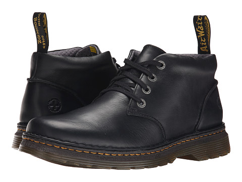 Dr. Martens - Giggs (Black Overdrive) Men's Shoes