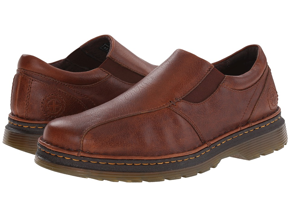 Dr. Martens - Tevin Slip on Shoe (Tan Plus) Men