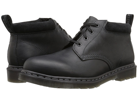 Dr. Martens - Norris (Black Wyoming/Bronx Suede) Men's Shoes