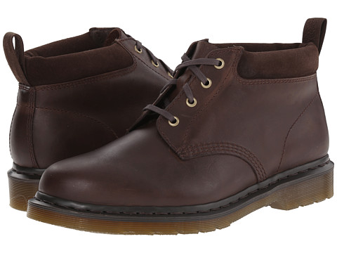 Dr. Martens - Norris (Dark Brown Wyoming/Bronx Suede) Men