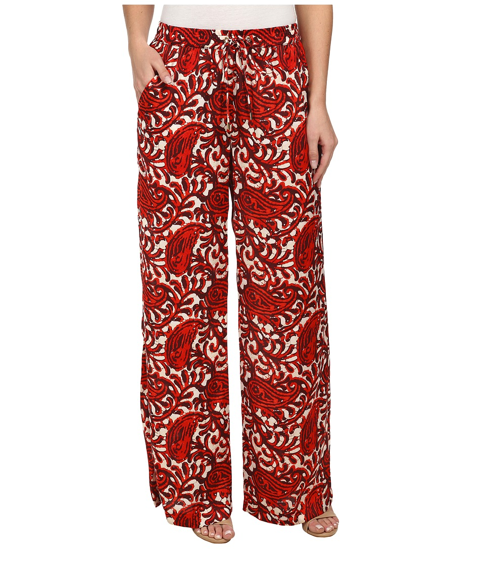 MICHAEL Michael Kors - Easy Wide-Leg Pants (Grenadine) Women's Casual Pants
