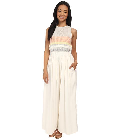Mara Hoffman - Embellished Jumpsuit (White) Women