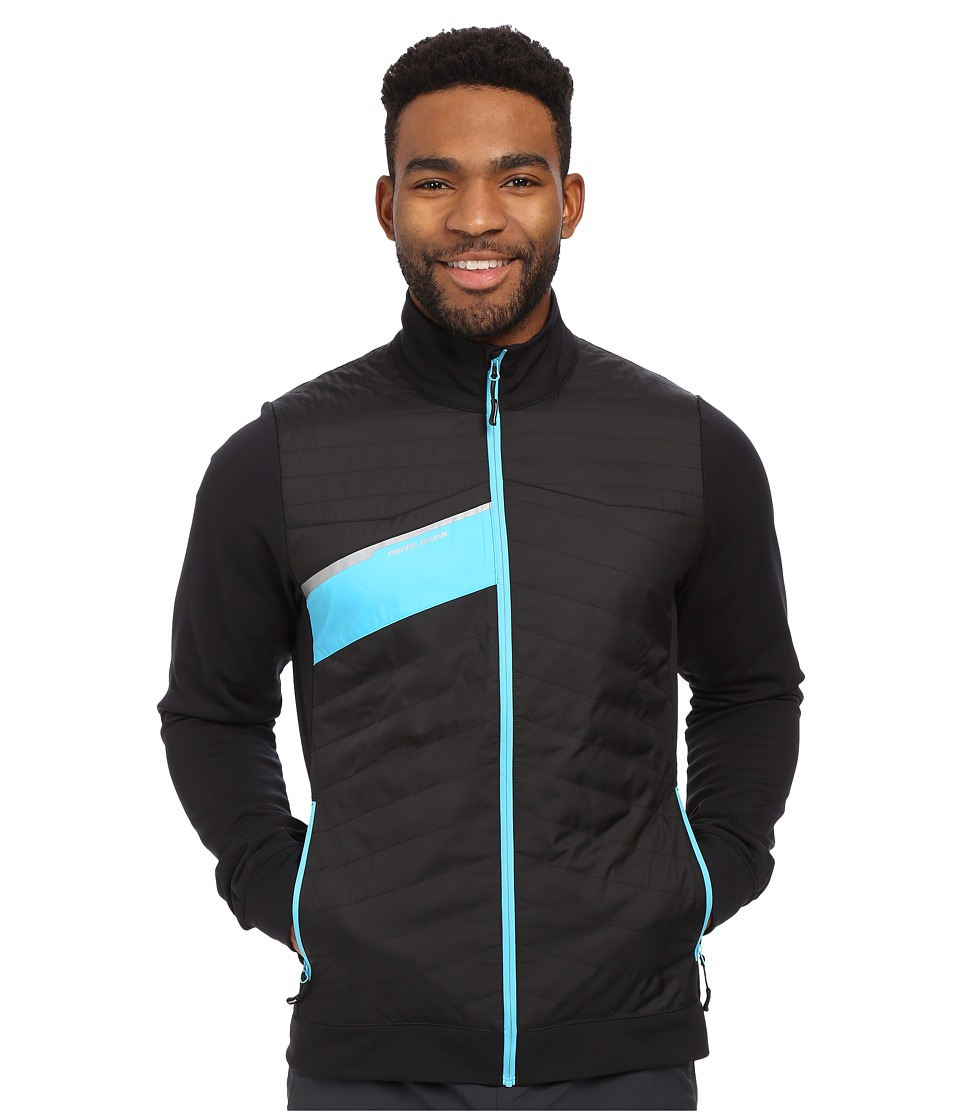 Pearl Izumi - Flash Insulator Run Jacket (Black/Blue Atoll) Men's Workout