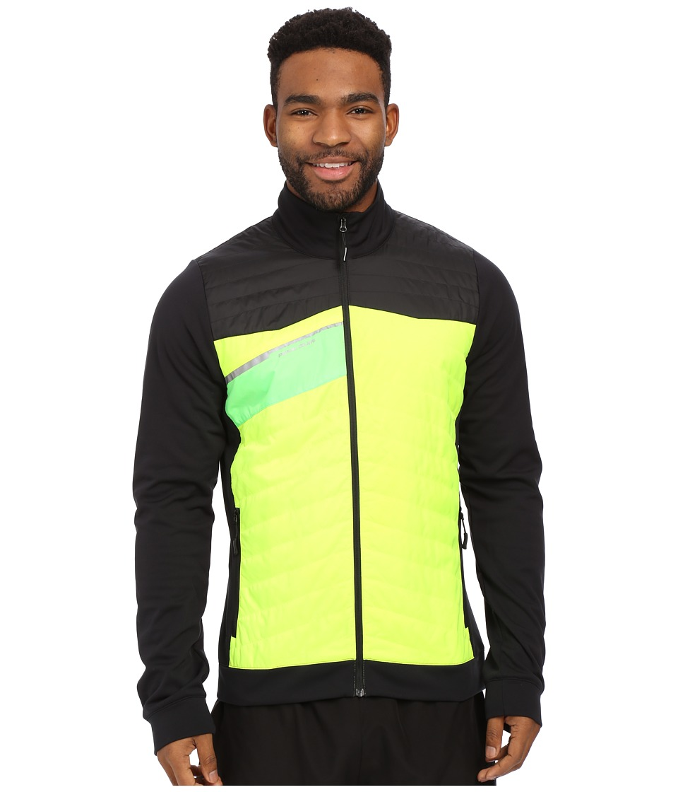 Pearl Izumi - Flash Insulator Run Jacket (Screaming Yellow/Black) Men's Workout