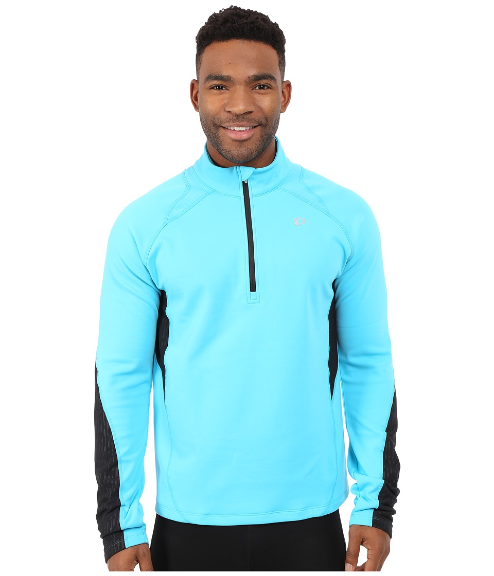Pearl Izumi - Fly Thermal Run Top (Blue Atoll) Men's Clothing