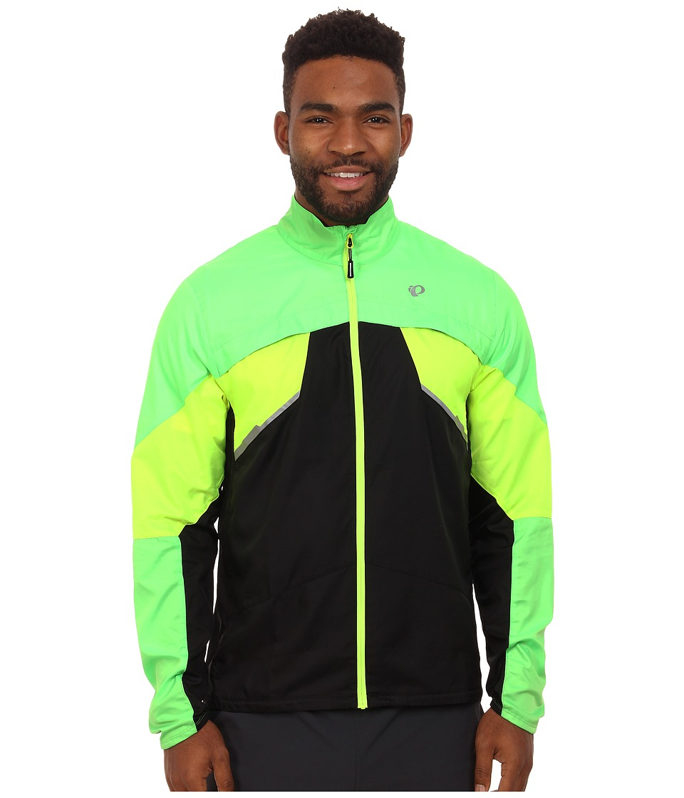 Pearl Izumi - Fly Run Jacket (Screaming Green/Screaming Yellow) Men's Workout