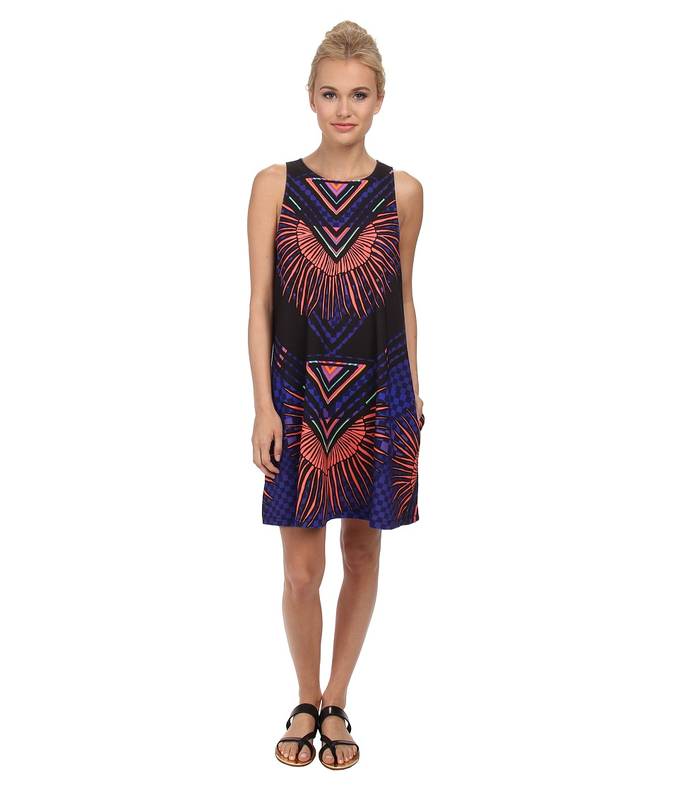Mara Hoffman - Swing Dress (Rainbow Black) Women's Dress