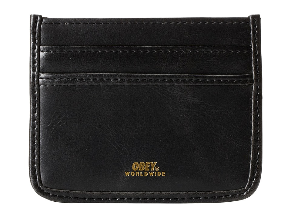 Obey - Gentry ID Wallet (Black) Wallet Handbags