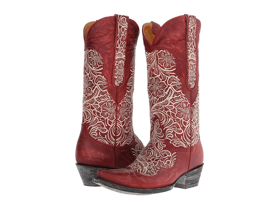 Old Gringo - Feita (Red/Bone) Women's Boots