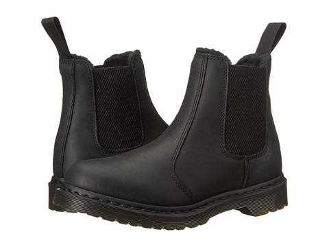 Dr. Martens - Leonore (Black Burnished Wyoming) Women's Shoes