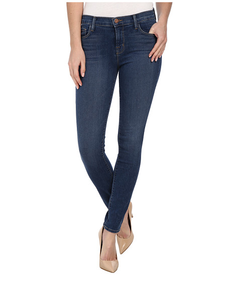 J Brand - Mid Rise Skinny in Blue Code (Blue Code) Women's Jeans