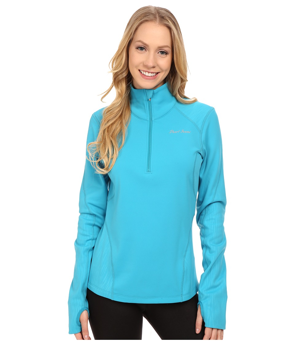 Pearl Izumi - Fly Thermal Run Top (Algiers Blue) Women's Clothing