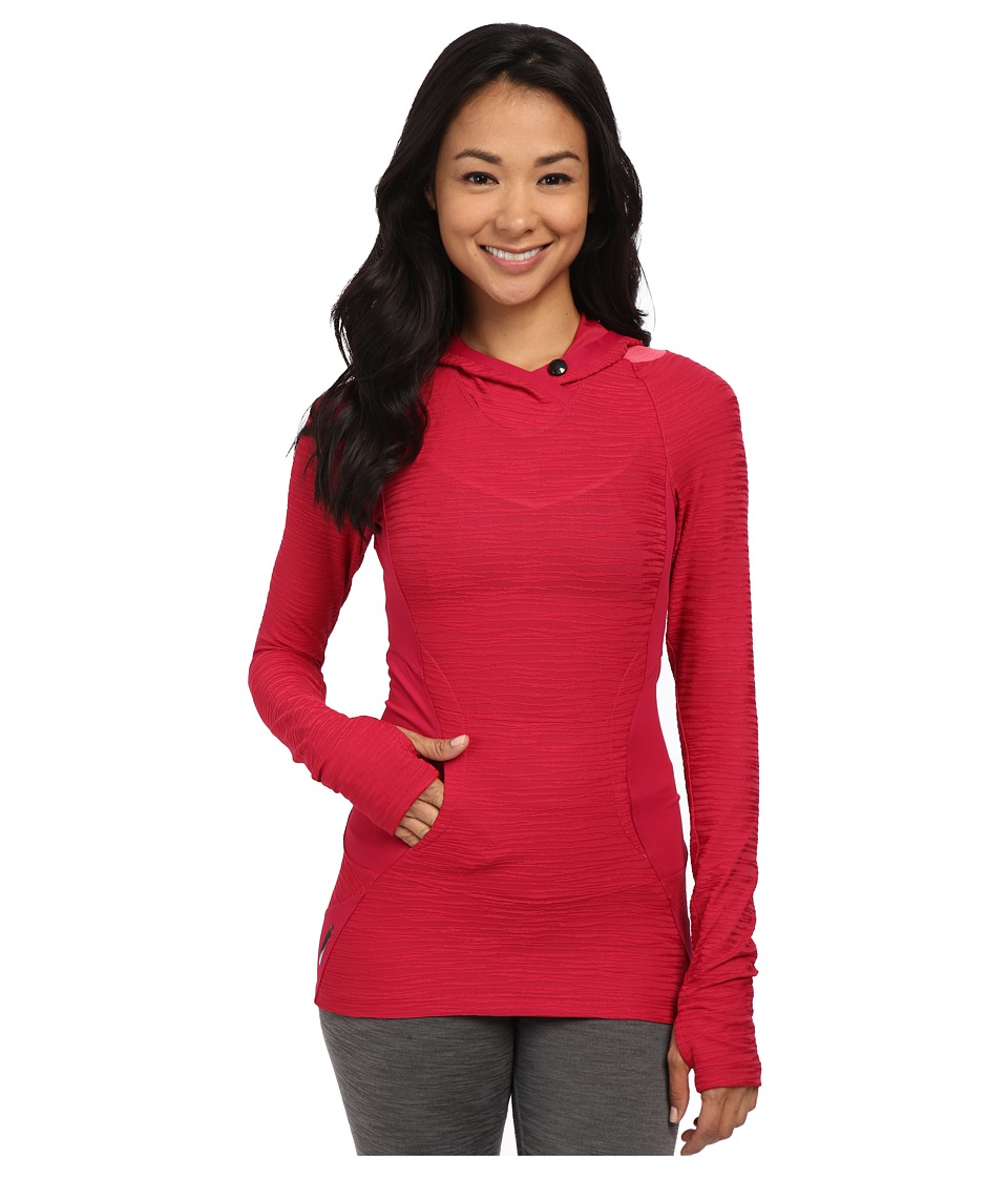 Pearl Izumi - Flash Hoodie (Cerise/Honeysuckle) Women's Sweatshirt