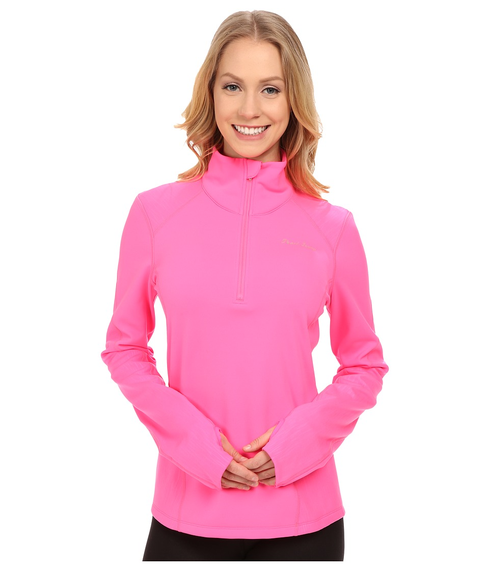 Pearl Izumi - Fly Thermal Run Top (Screaming Pink) Women's Clothing