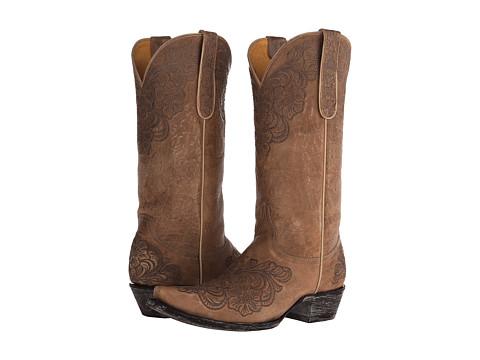 Old Gringo - Azalea (Bone) Cowboy Boots