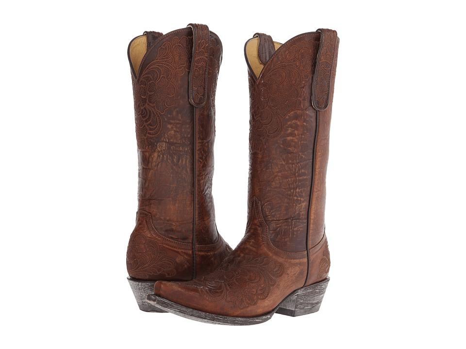 Old Gringo - Azalea (Brass) Cowboy Boots