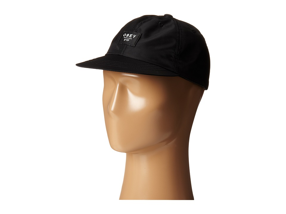 Obey - Maverick Throwback (Black) Caps