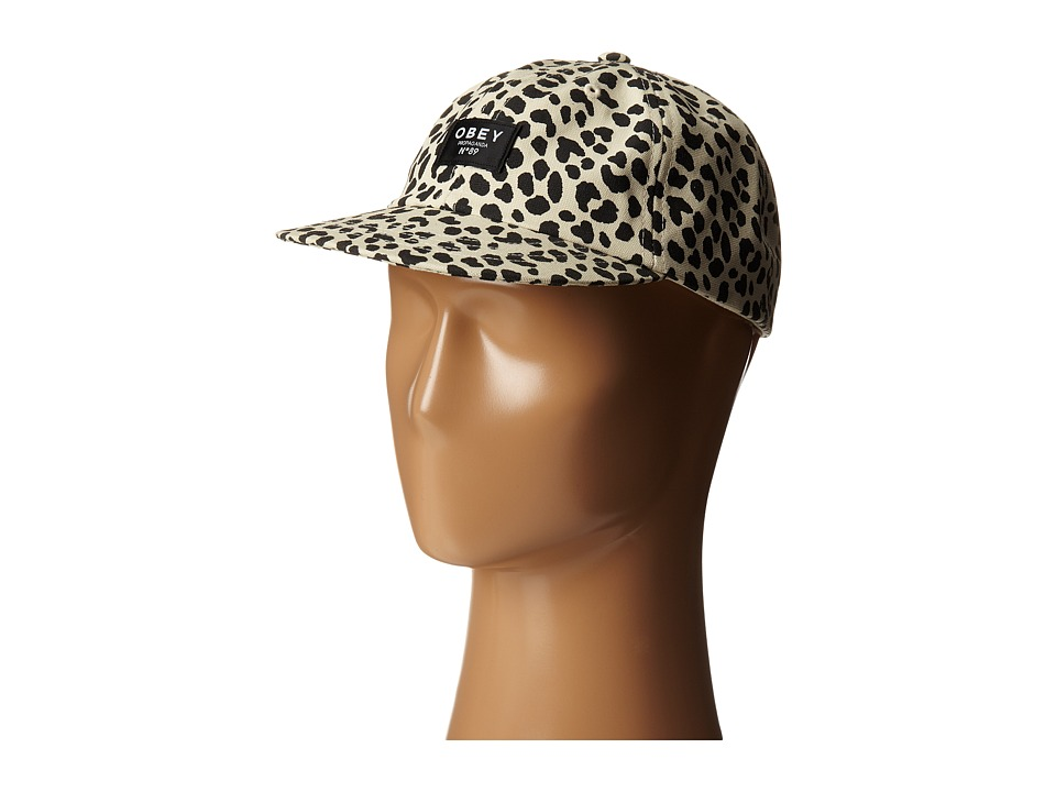 Obey - Mallory Throwback (Leopard) Caps