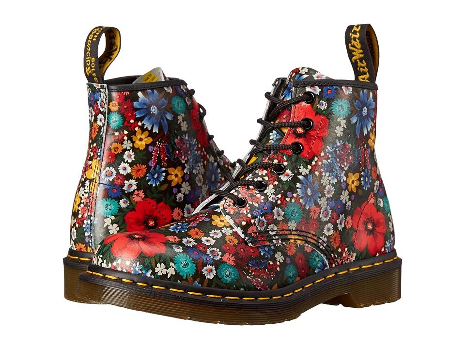 Dr. Martens - 101 6-Eye Boot (Multi Wanderlust Softy T) Women