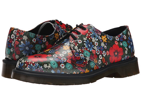 Dr. Martens - 1461 PW 3-Eye (Multi Wanderlust Softy T) Women