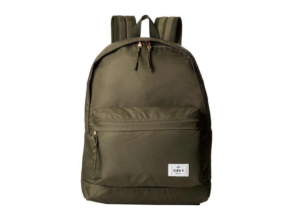 Obey - Laroche Backpack (Military Olive) Backpack Bags