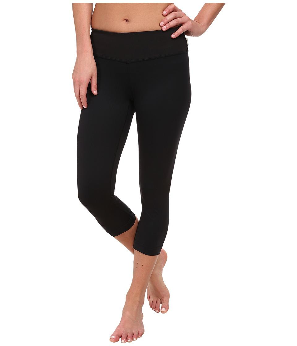 O'Neill - Skins Surf Capri (Black/Black) Women's Swimwear