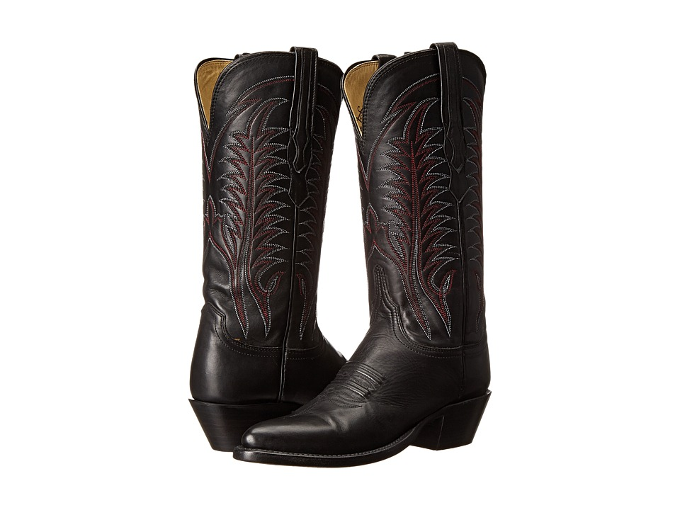 Lucchese HL4507.04 (Black) Cowboy Boots