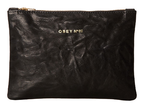 Obey - Roslyn Mini Pouch (Black) Travel Pouch