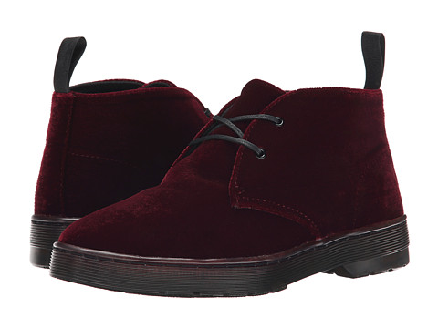 Dr. Martens - Daytona (CHERRY RED ZE YOU VELVET) Women