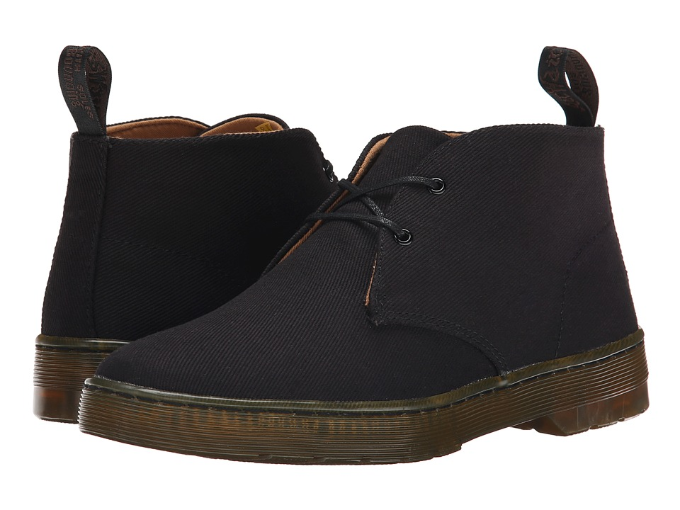 Dr. Martens Daytona (Black Overdyed Twill Canvas) Women