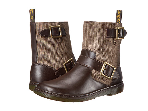Dr. Martens - Gayle (Rich Brown/Brown Danio/Tweed Herringbone) Women
