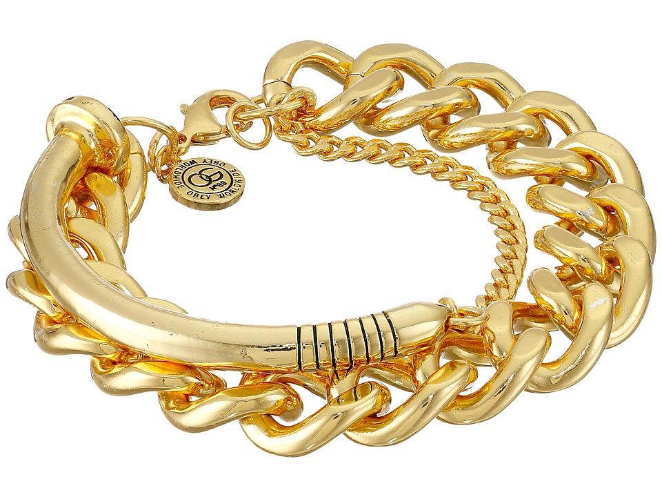 Obey - Alchemy Bracelet (Gold) Bracelet