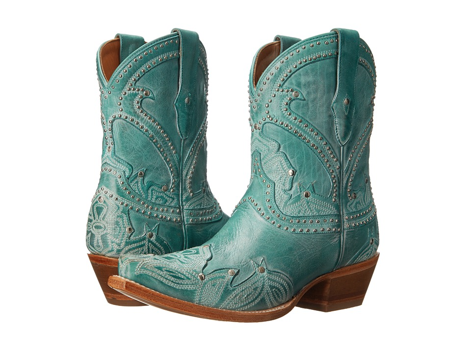 Lucchese - Sarabeth (Turquoise) Cowboy Boots