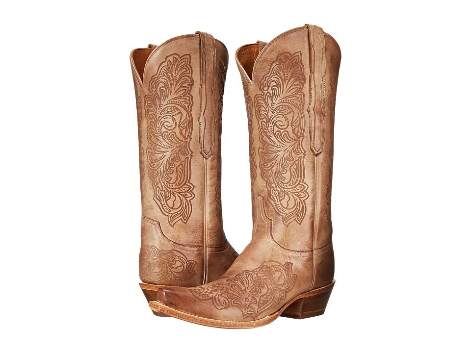 Lucchese - Charity (Beige) Cowboy Boots