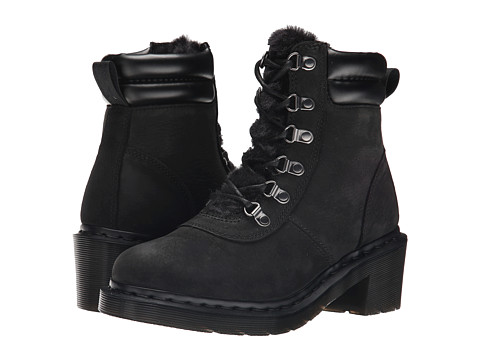Dr. Martens - Sylvia (Black Upfront) Women's Shoes