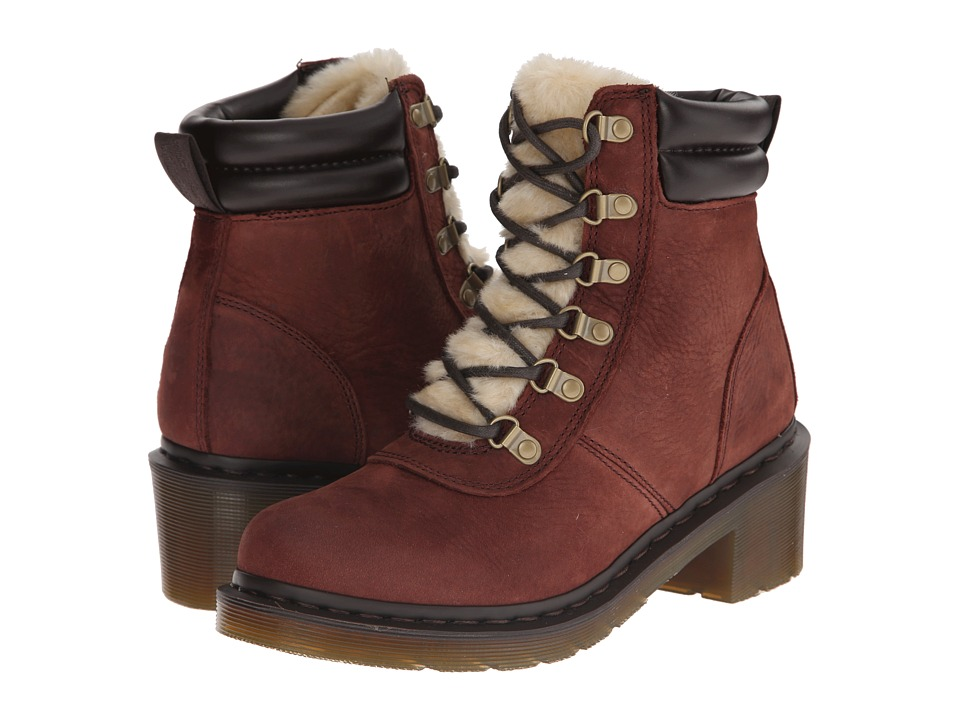 Dr. Martens - Sylvia (Brown Upfront) Women's Shoes