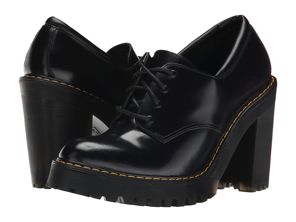 Dr. Martens - Salome (Black Buttero) Women's Shoes