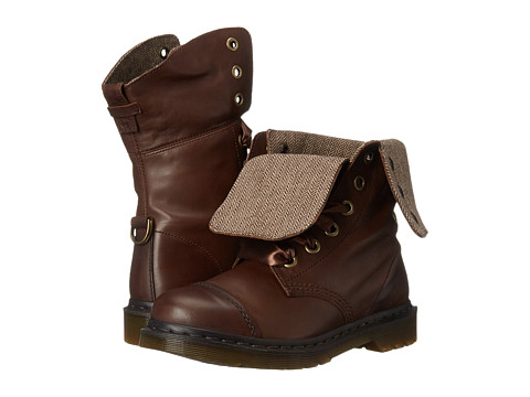 Dr. Martens - Aimilita (Dark Brown Darkened Mirage) Women