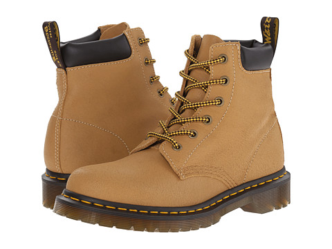 Dr. Martens - 939 (Tan Greasy Suede) Women's Shoes