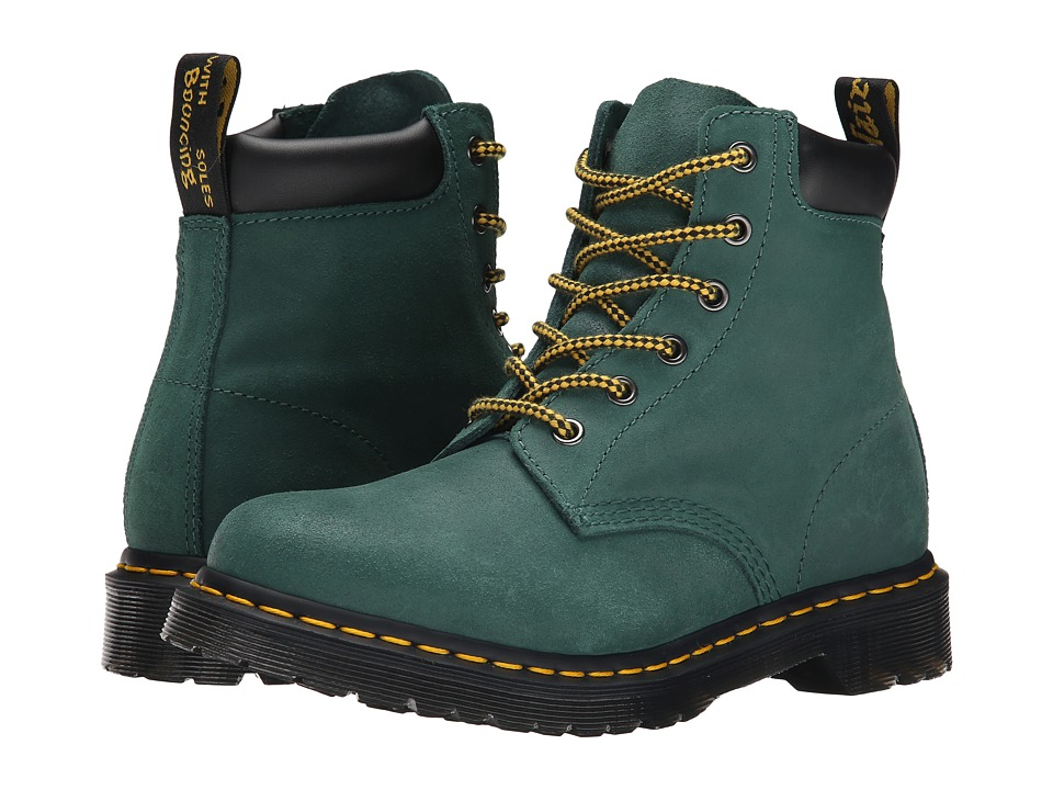 Dr. Martens - 939 (Teal Greasy Suede) Women