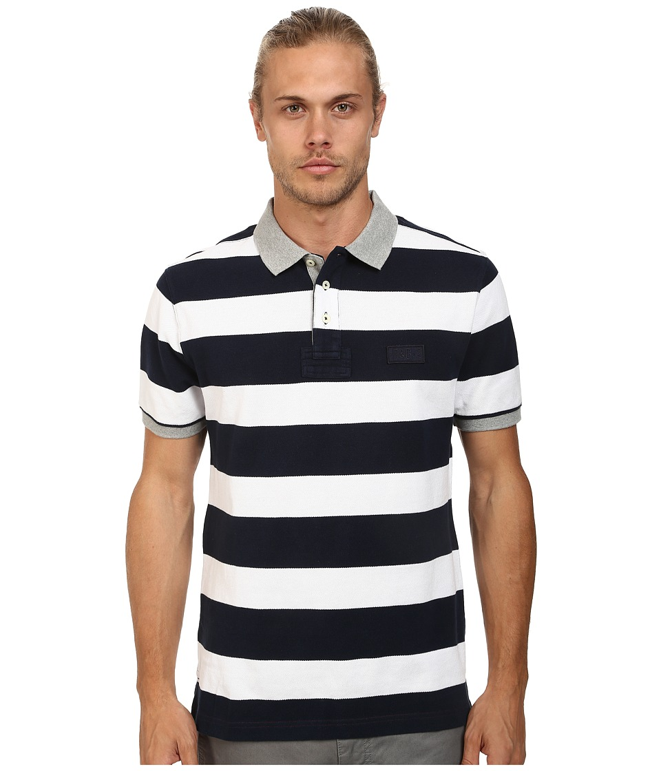 Rodd & Gunn - Camberley Polo (Navy) Men's Short Sleeve Pullover