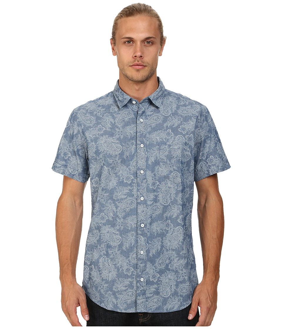 Rodd & Gunn - Ryeland Short Sleeve Shirt (Chambray 2) Men's Clothing