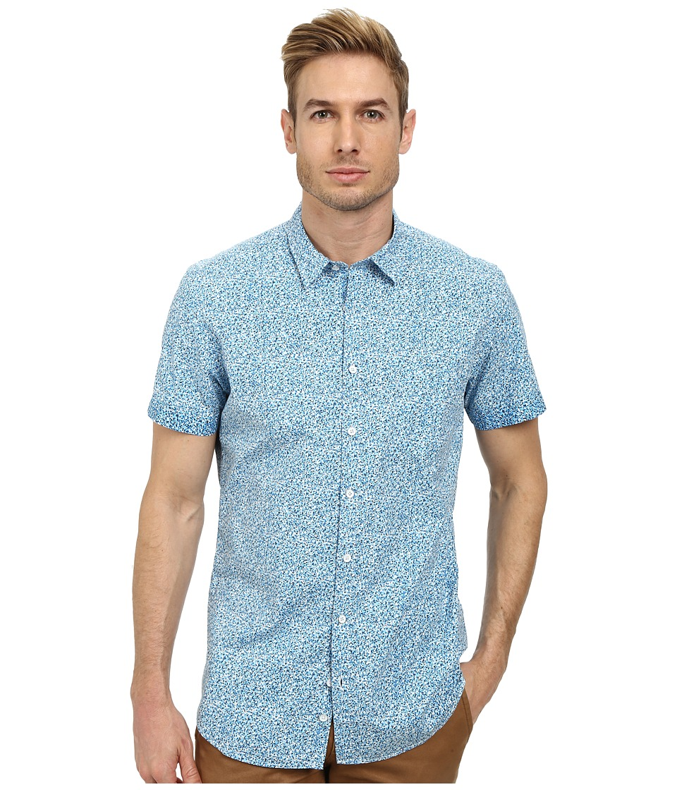 Rodd & Gunn - Kestral Short Sleeve Shirt (Sea Spray) Men's Short Sleeve Button Up