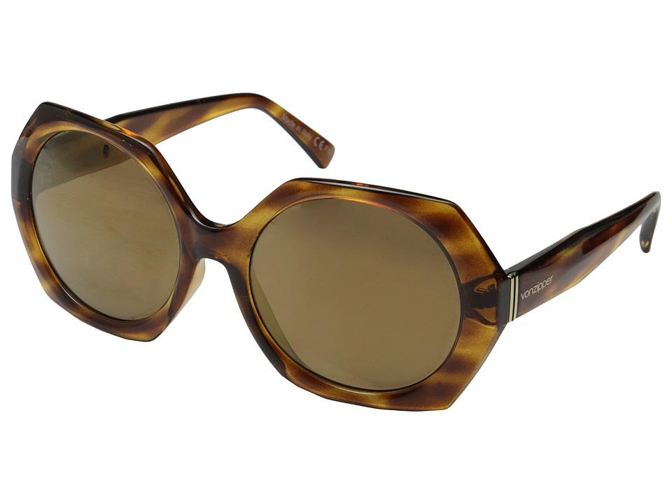 VonZipper - Buelah (Tortoise Gloss/Gold Glo) Sport Sunglasses