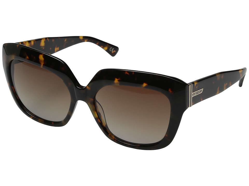 VonZipper - Poly (Tortoise Gloss/Brown Gradient) Sport Sunglasses