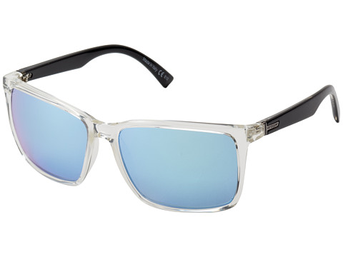 VonZipper - Lesmore (Crystal Black/Sky Chrome) Sport Sunglasses